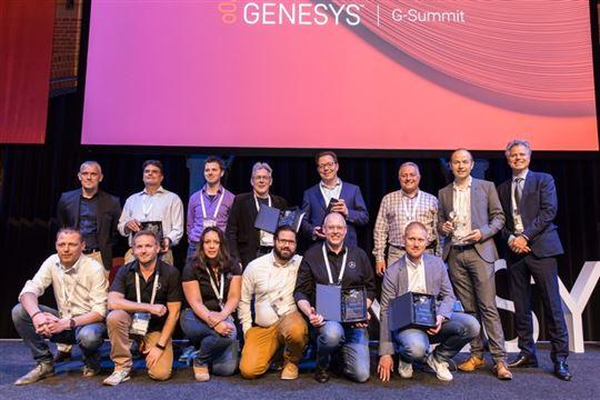 Awards van Genesys voor klanten en partners