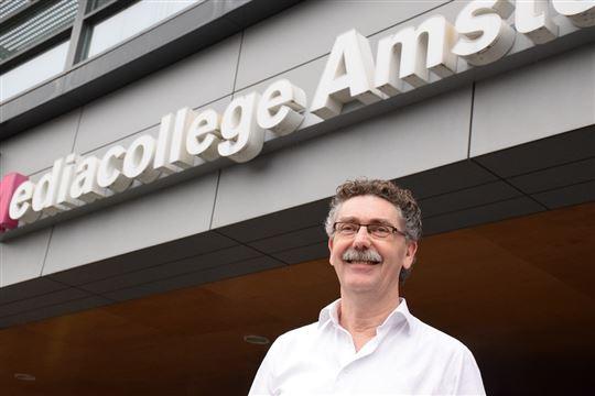 Rob van Velzen, ICT-manager van Mediacollege Amsterdam