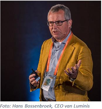 Hans Bossenbroek, CEO van Luminis