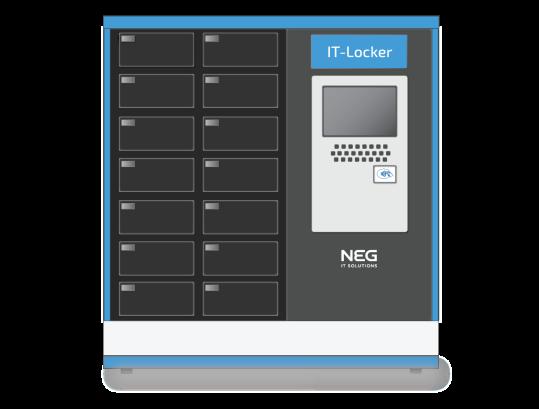 IT-locker, veilige opslag van devices zoals laptops en smart-devices