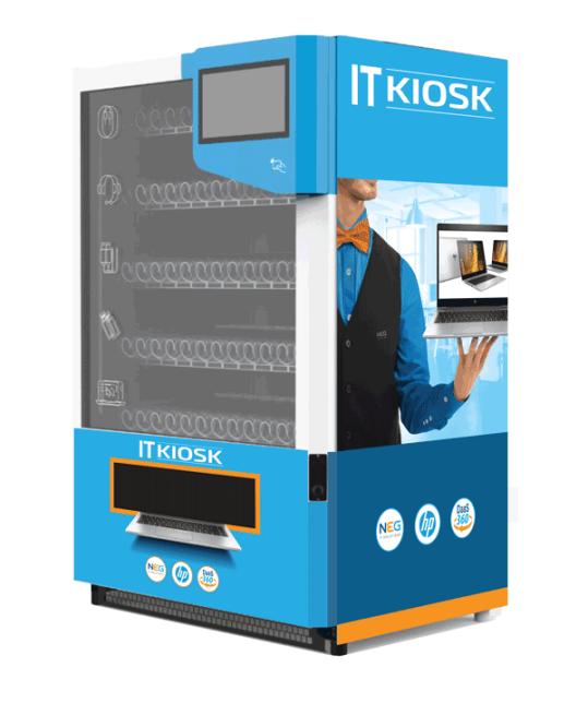 IT-Kiosk, een speciaal toegeruste vending-machine