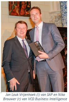 VCD Business Intelligence wint SAP Best Partner Managed Cloud Partner award