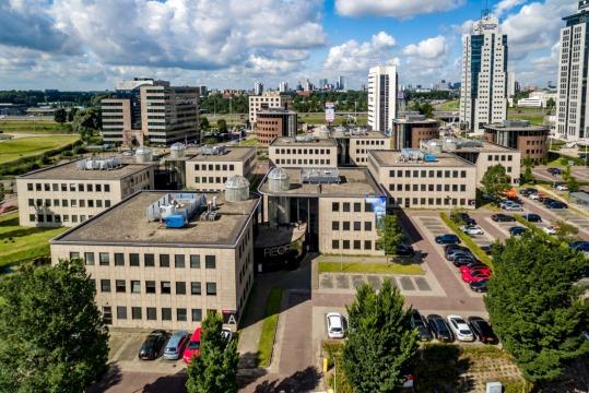 Overzicht locaties VANAD Group op bedrijvenpark Rivium