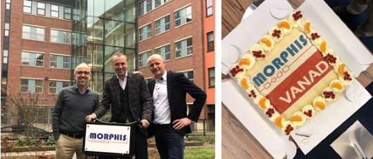 VANAD Group neemt softwareontwikkelaar Morphis over