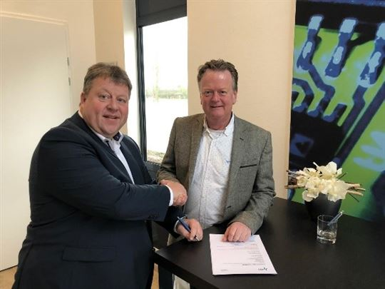 Kim van Brugge en Tom Jansen.