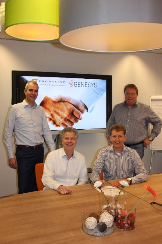 Frontline behaalt Gold-partner status van Genesys