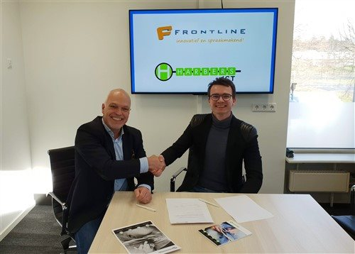 Links: Hans Reuver (Frontline) en rechts Emiel Harbers (Harberst ICT)