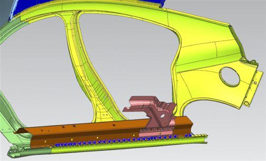 Simcenter 3D stroomlijnt de creatie van grote productielijnen zoals in de automotive industrie