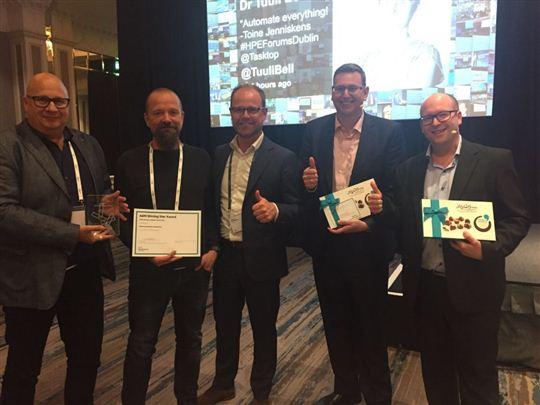 Waternet en Salves onderscheiden met HPE Award