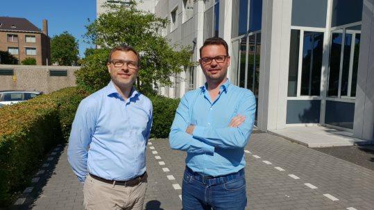 Pepijn Janssen (r), CTO en oprichter van RedSocks Security, en Mark Koek (l), oprichter en directeur van HackDefense