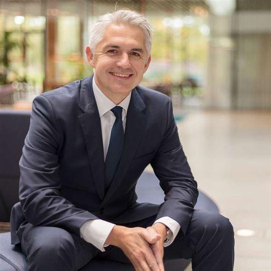 dr. Ulrich Lison, lid van de raad van bestuur van AEB en mede co-auteur van het onderzoeksrapport