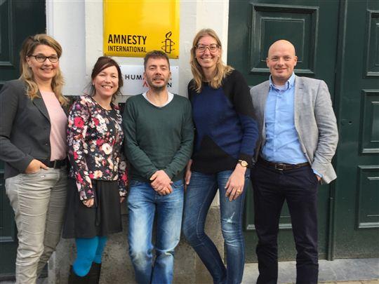 HR2day helpt Amnesty International verder professionaliseren