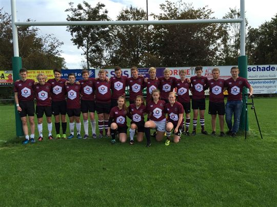 MagnaVersum nieuwe shirtsponsor Rugby Club West-Friesland