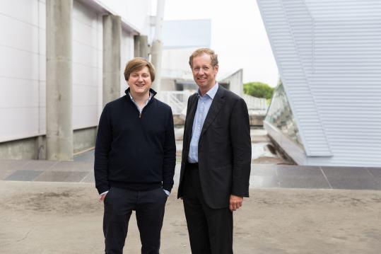 Jeroen De Wit (Teamleader, links op de foto) en Duco Sickinghe (Fortino Capital, rechts op de foto)