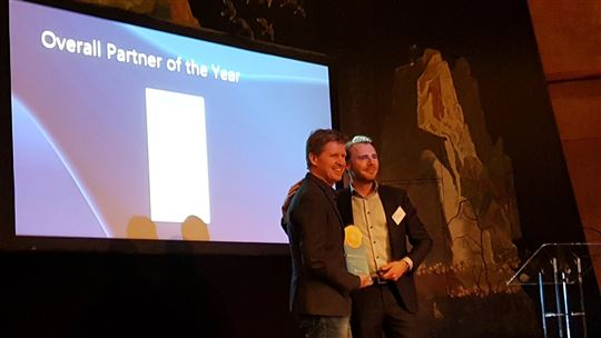 Appronto is Mendix Overall Partner of the Year