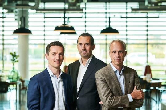 Eric Revers, Robert Mansour en Marc Ducardus