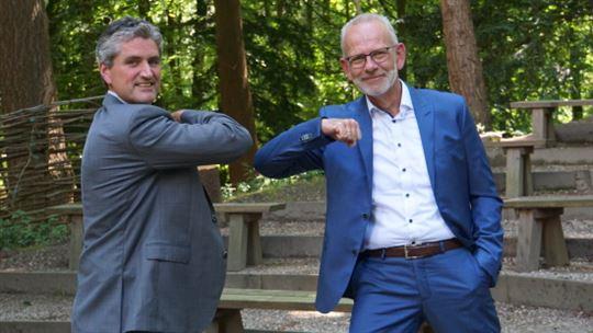 l. Arjan Spruijt, directeur innovatie PlanMen, r. Willian Wildeboer, directeur PlanMotion