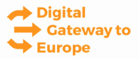 Logo Digital Gateway to Europe (DG)