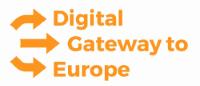 Logo Digital Gateway to Europe (DG)