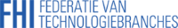 Logo FHI, federatie van technologiebranches